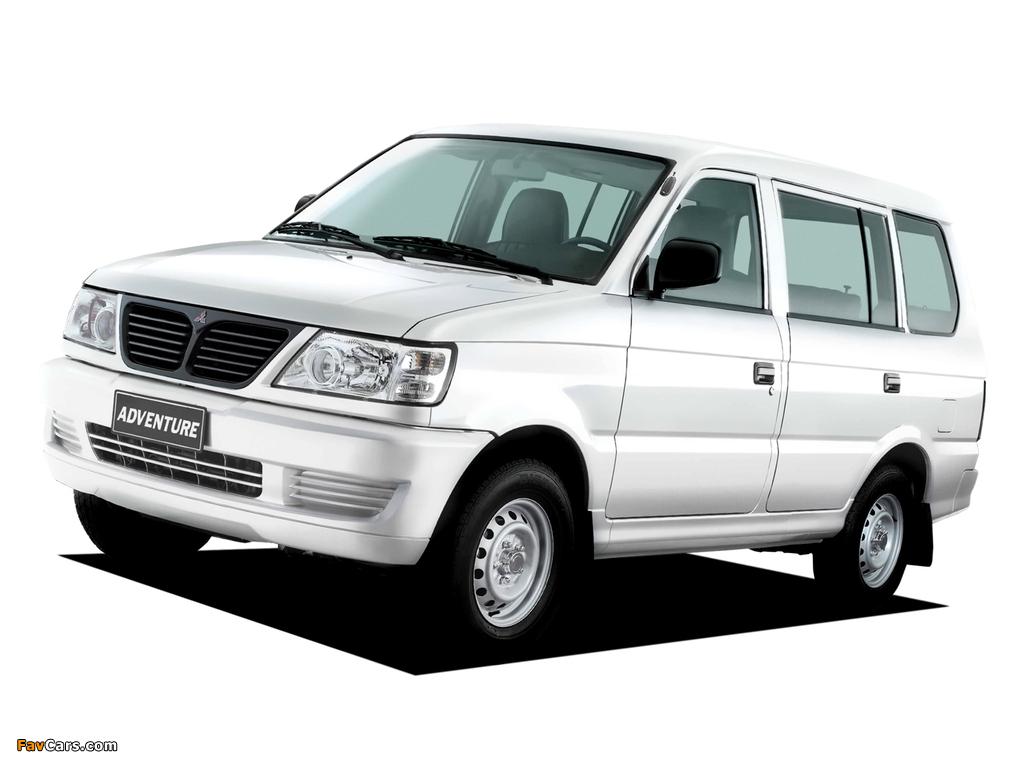 Mitsubishi Adventure 2001–04 wallpapers (1024 x 768)