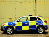 Images of Mitsubishi ASX Police 2010