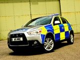 Mitsubishi ASX Police 2010 wallpapers