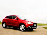 Photos of Mitsubishi ASX UK-spec 2010–13