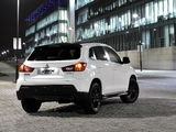 Mitsubishi ASX Black 2011 wallpapers