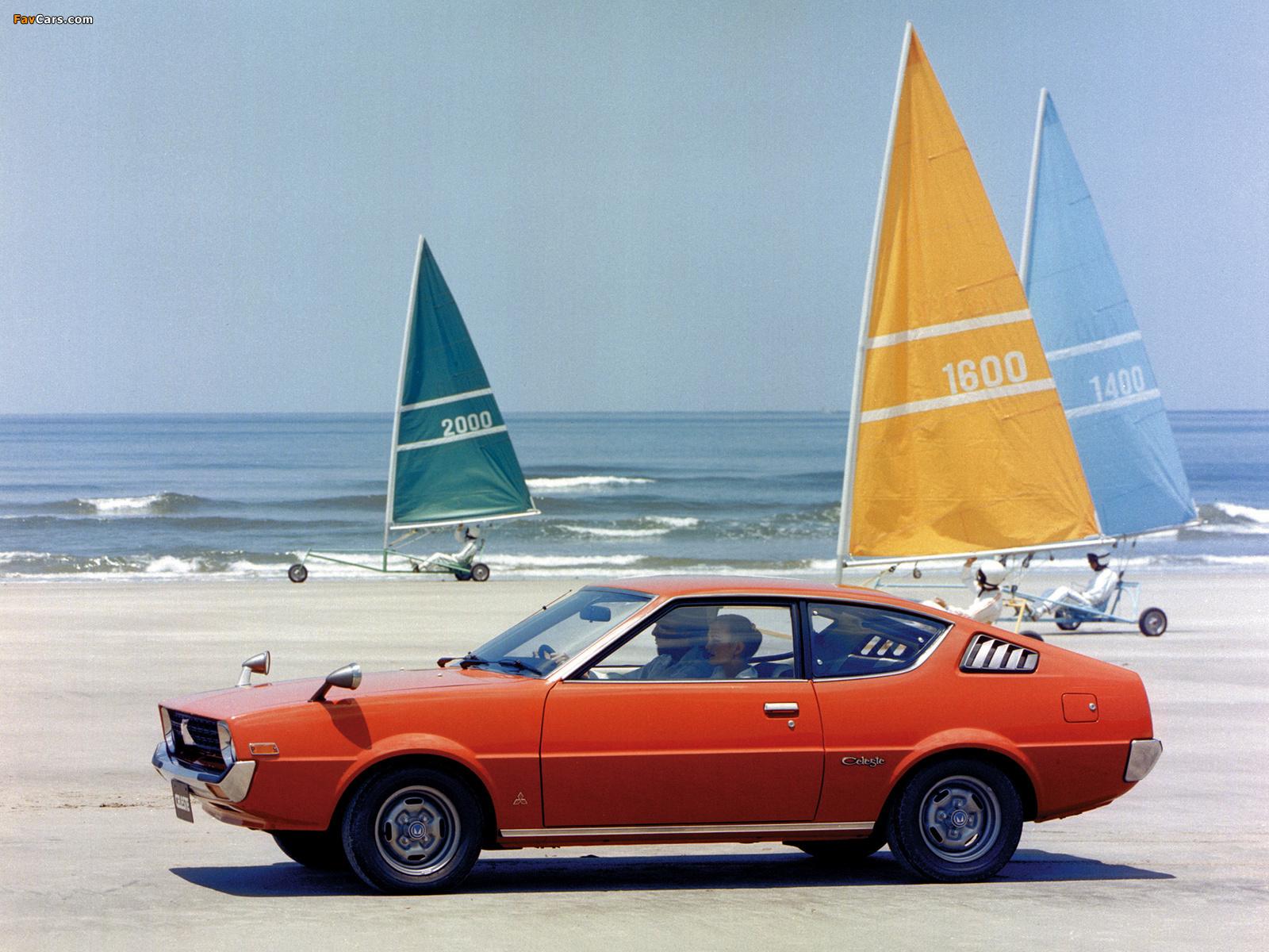 Mitsubishi Lancer Celeste 1975–77 wallpapers (1600 x 1200)
