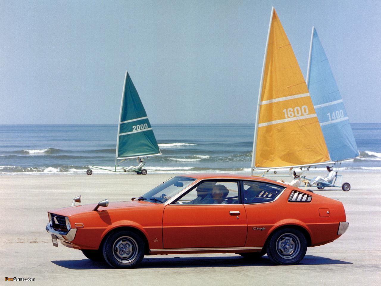 Mitsubishi Lancer Celeste 1975–77 wallpapers (1280 x 960)