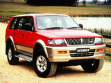 Mitsubishi Challenger (K90W) 1996–99 photos