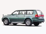 Mitsubishi Challenger (K90W) 1996–99 wallpapers