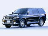Photos of Mitsubishi Challenger City Cruising (K90W) 1996–99