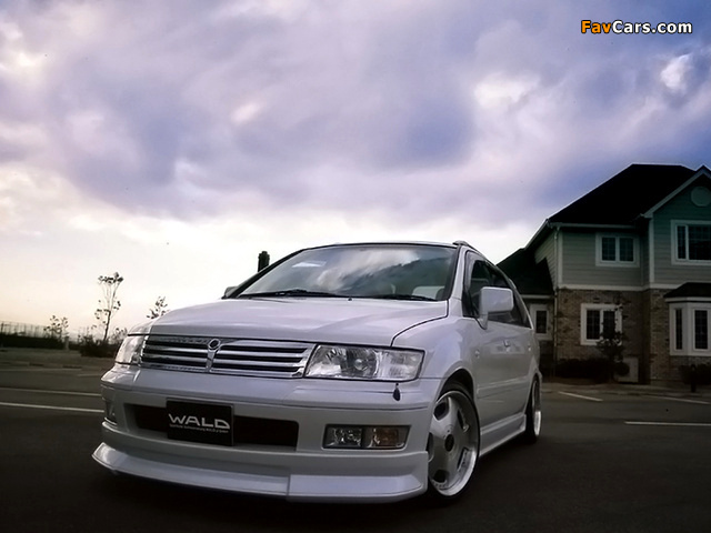 WALD Mitsubishi Chariot Grandis 1997–2002 wallpapers (640 x 480)