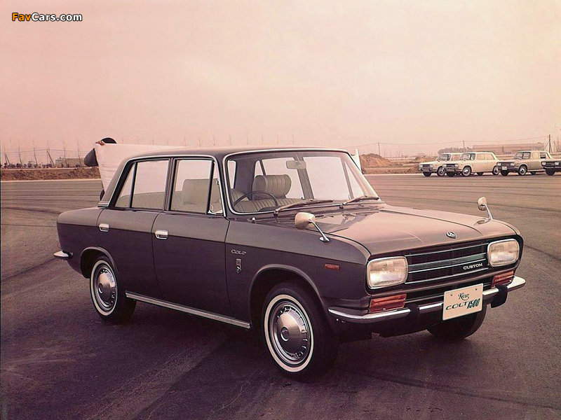 Images of Mitsubishi Colt 1500 Sedan 1965–70 (800 x 600)