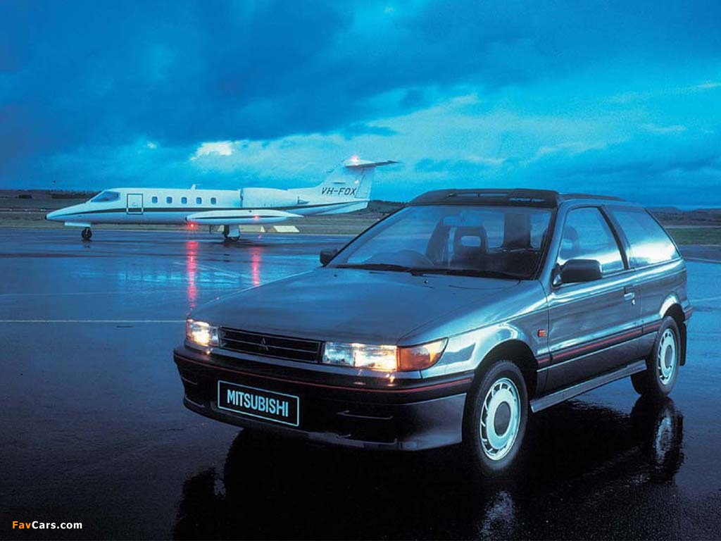 Images of Mitsubishi Colt 3-door 1988–92 (1024 x 768)