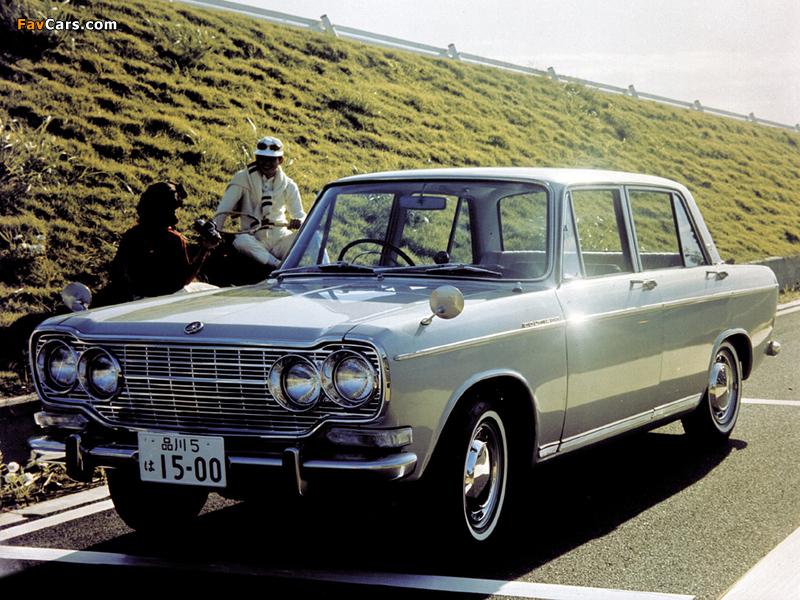 Mitsubishi Colt 1500 Sedan 1965–70 photos (800 x 600)