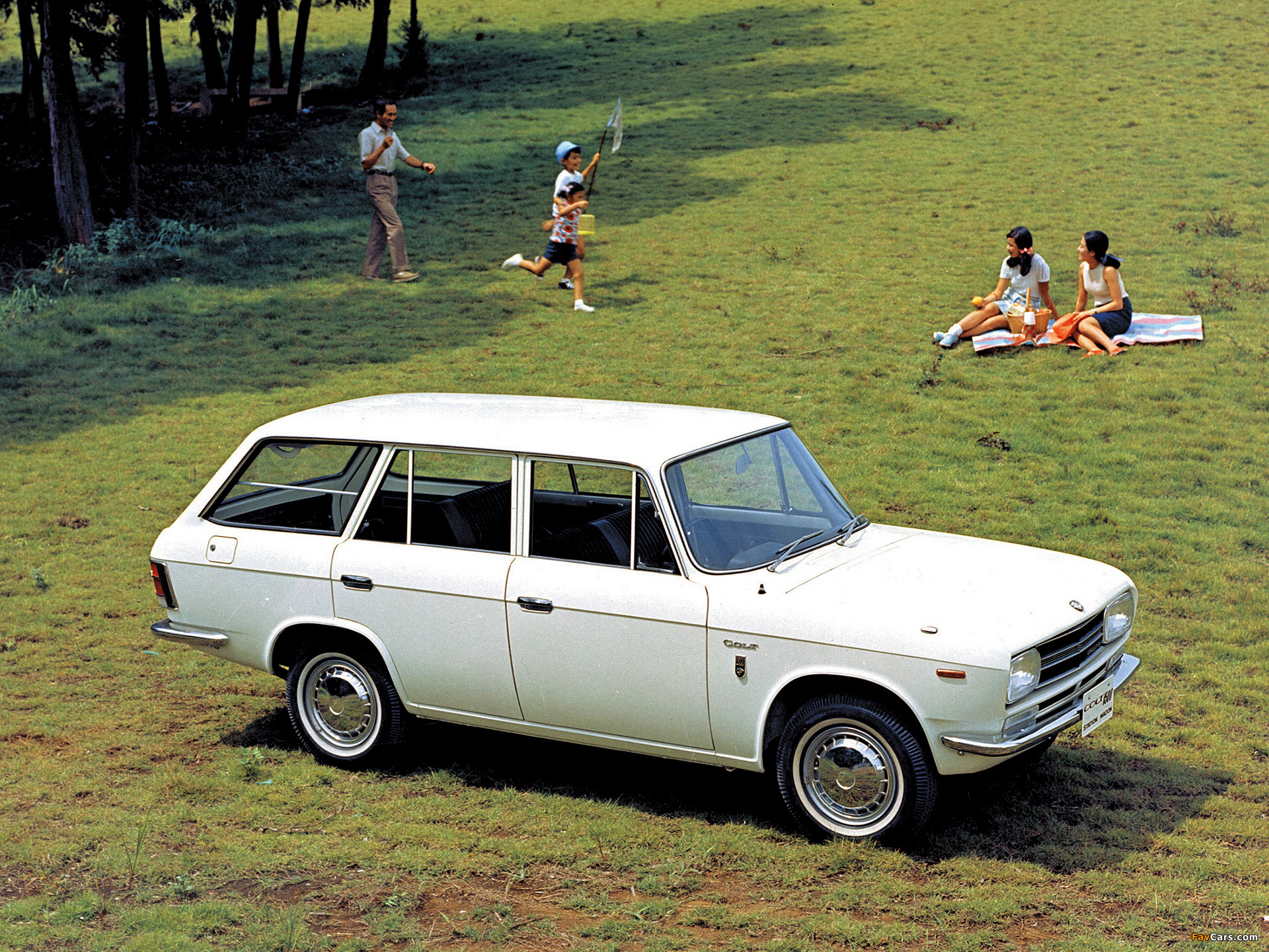 Mitsubishi Colt 1500 Station Wagon 1965 70 Pictures