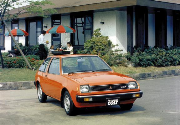 Mitsubishi Colt 3-door 1978–82 images