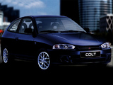 Mitsubishi Colt 3-door 1996–2002 images