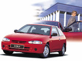 Mitsubishi Colt 3-door 1996–2002 photos