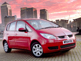 Mitsubishi Colt 5-door UK-spec 2004–08 images