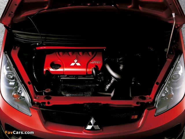 Mitsubishi Colt Ralliart Version-R 2006–08 images (640 x 480)