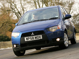 Mitsubishi Colt 5-door UK-spec 2009 pictures