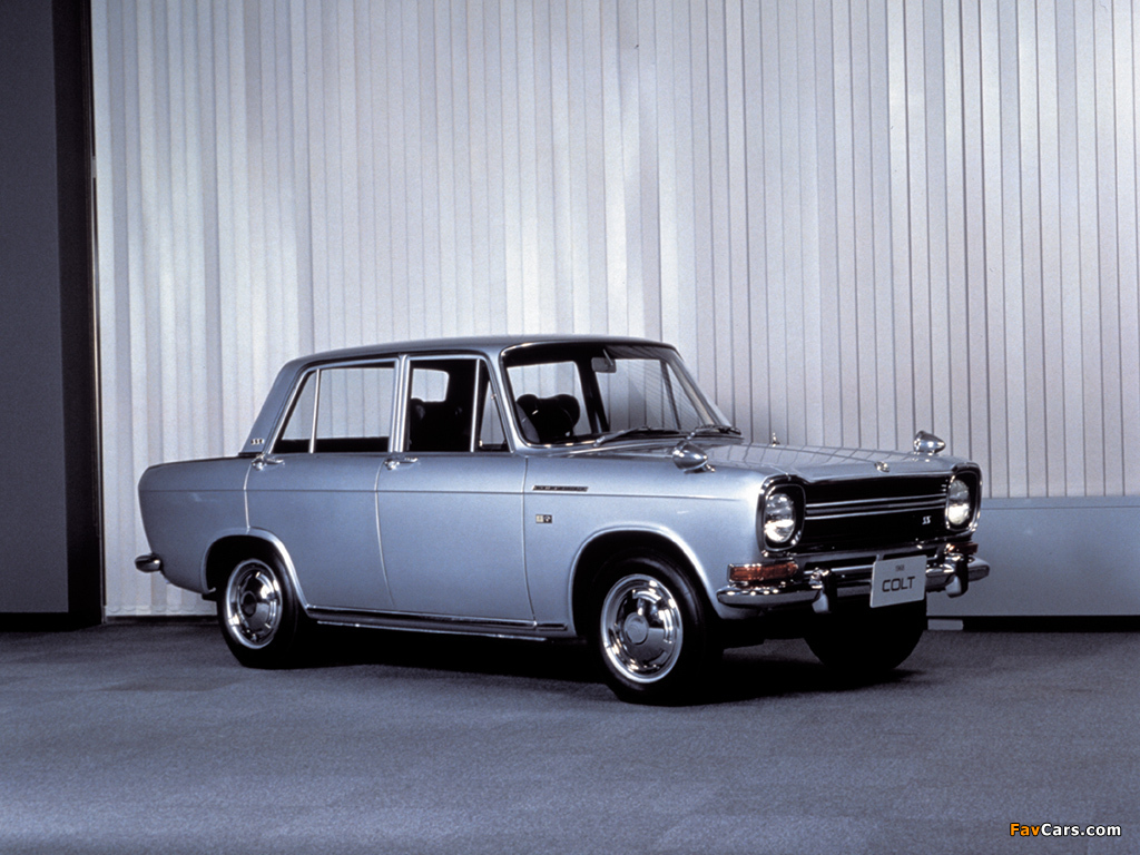 Photos of Mitsubishi Colt 1500 Sedan 1965–70 (1024 x 768)