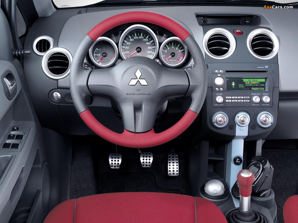 Photos of Mitsubishi Colt 5-door 2004–08 (1024 x 768)