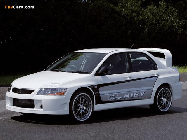 Images of Mitsubishi Lancer Evolution MIEV Concept 2005 (640 x 480)