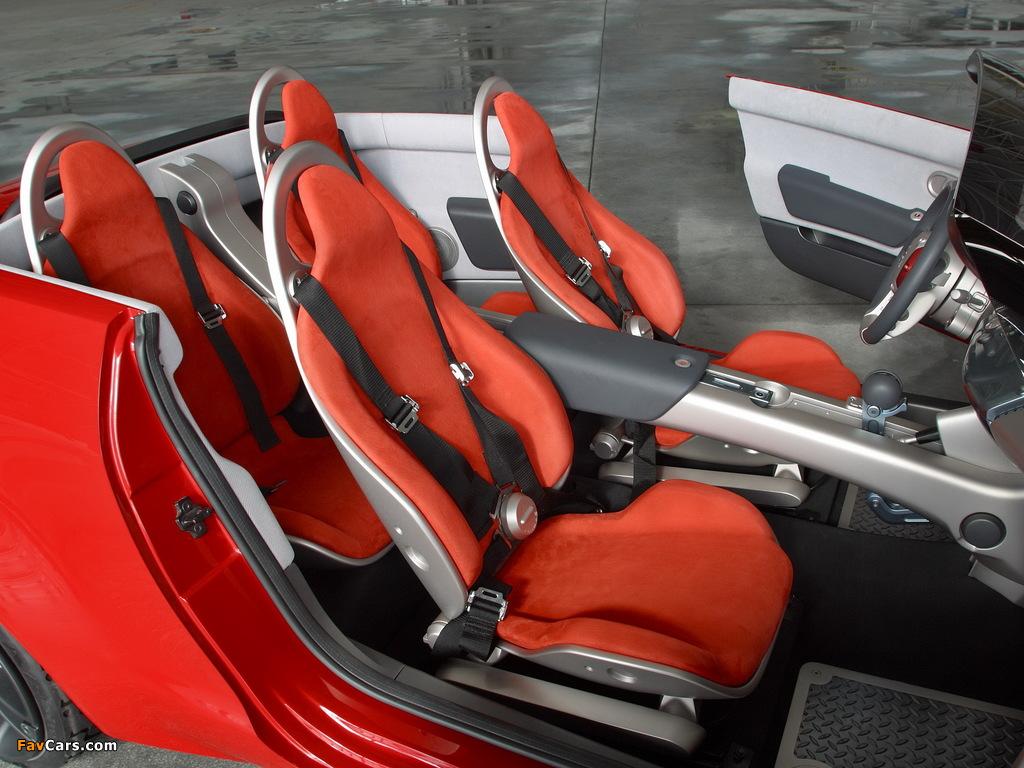 Mitsubishi Tarmac Spyder Concept 2003 images (1024 x 768)