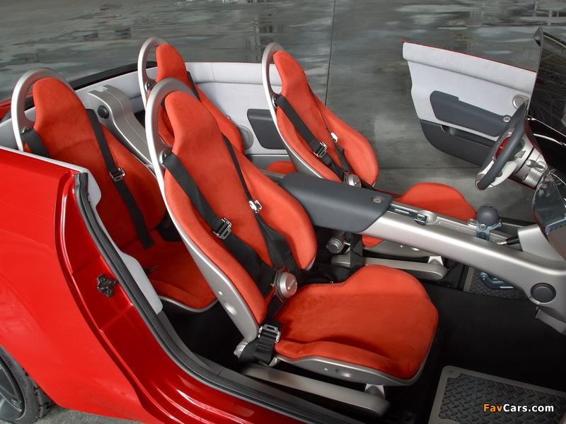 Mitsubishi Tarmac Spyder Concept 2003 images (800 x 600)