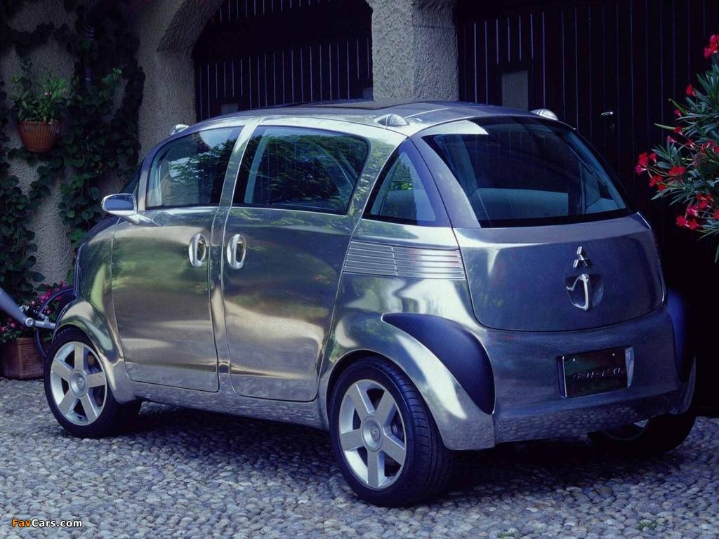 Mitsubishi Se-Ro Concept 2003 pictures (1024 x 768)