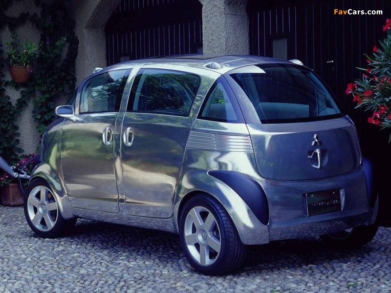 Mitsubishi Se-Ro Concept 2003 pictures (800 x 600)