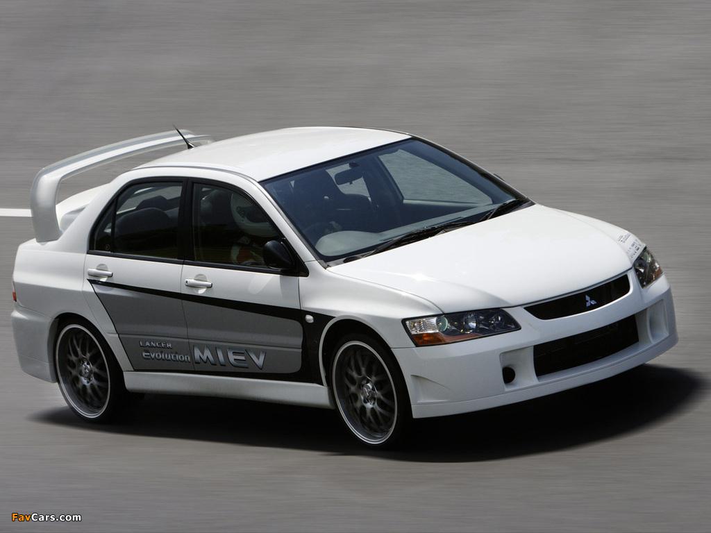 Mitsubishi Lancer Evolution MIEV Concept 2005 photos (1024 x 768)