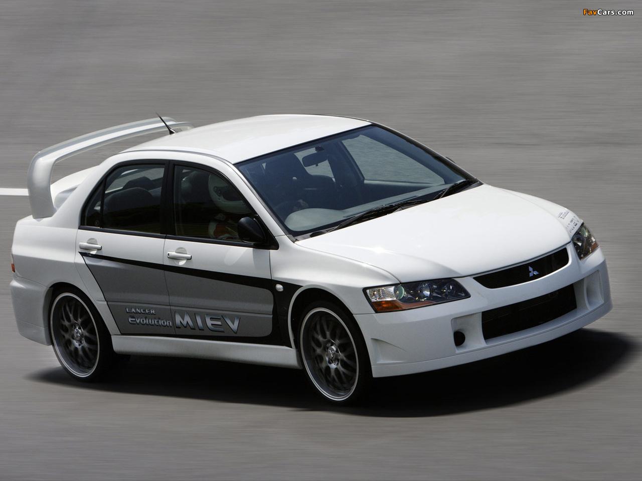 Mitsubishi Lancer Evolution MIEV Concept 2005 photos (1280 x 960)