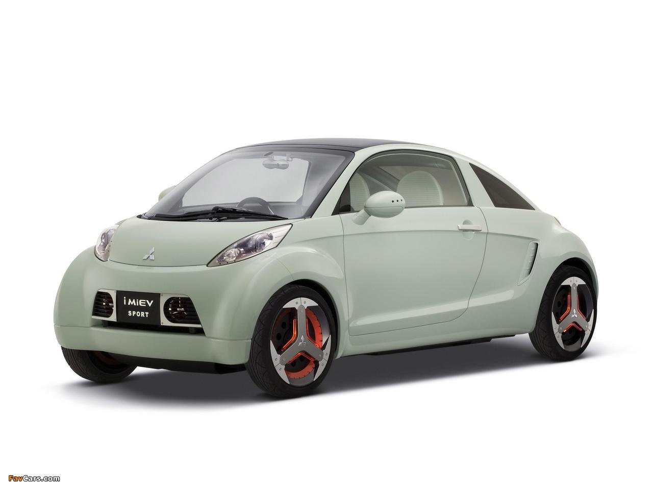 Mitsubishi I MiEV Sport Concept 2007 images (1280 x 960)