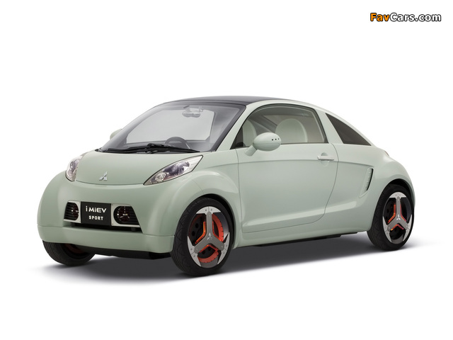 Mitsubishi I MiEV Sport Concept 2007 images (640 x 480)