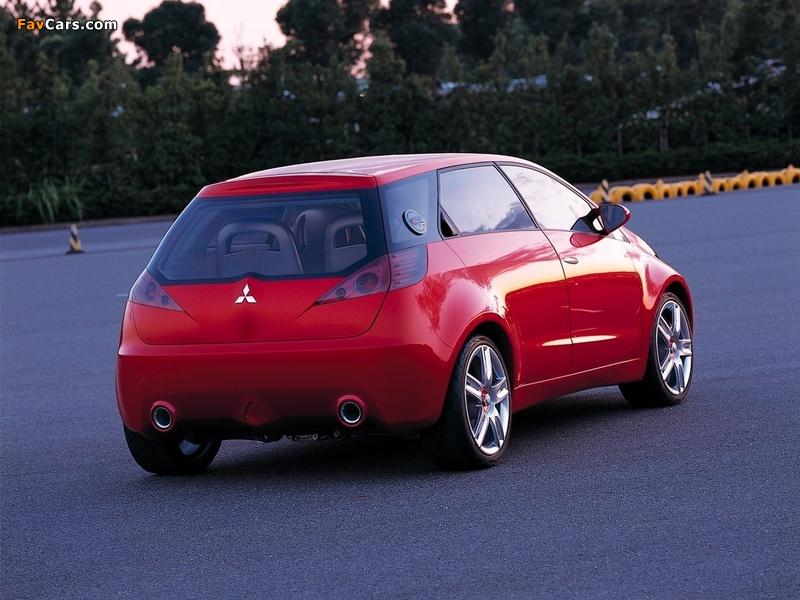 Photos of Mitsubishi CZ3 Tarmac Concept 2002 (800 x 600)