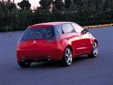 Photos of Mitsubishi CZ3 Tarmac Concept 2002