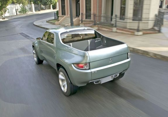 Pictures Of Mitsubishi Sport Truck Concept F 2004