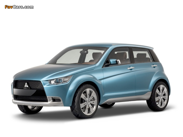 Pictures of Mitsubishi Concept-cX 2007 (640 x 480)