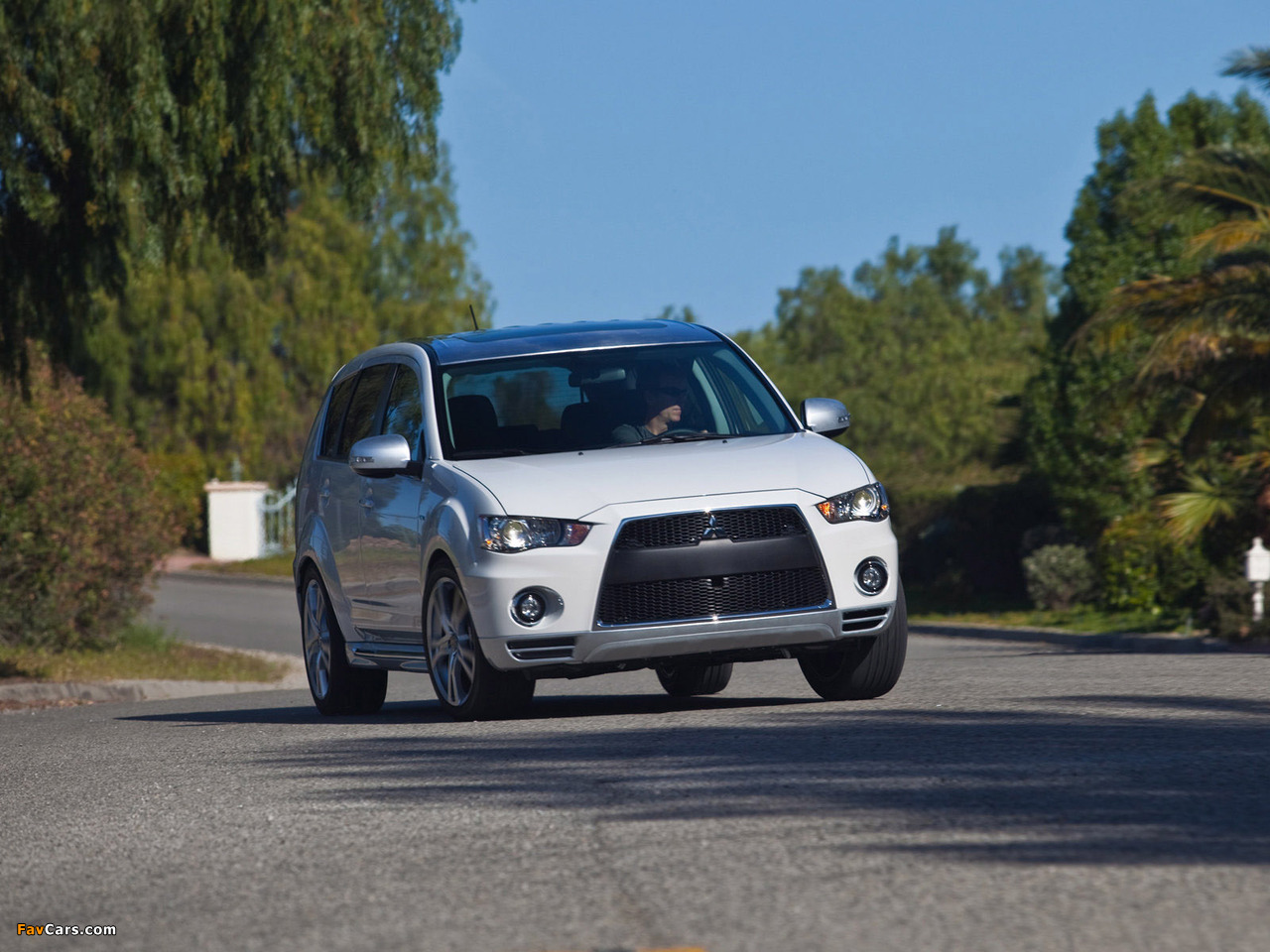 Pictures of Mitsubishi Outlander GT Prototype 2009 (1280 x 960)