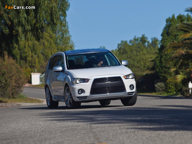 Pictures of Mitsubishi Outlander GT Prototype 2009 (640 x 480)
