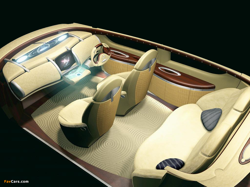 Mitsubishi Space Liner Concept 2001 wallpapers (1024 x 768)