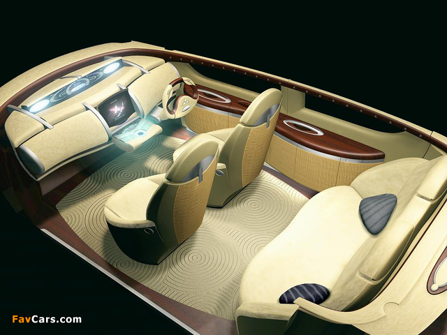 Mitsubishi Space Liner Concept 2001 wallpapers (640 x 480)