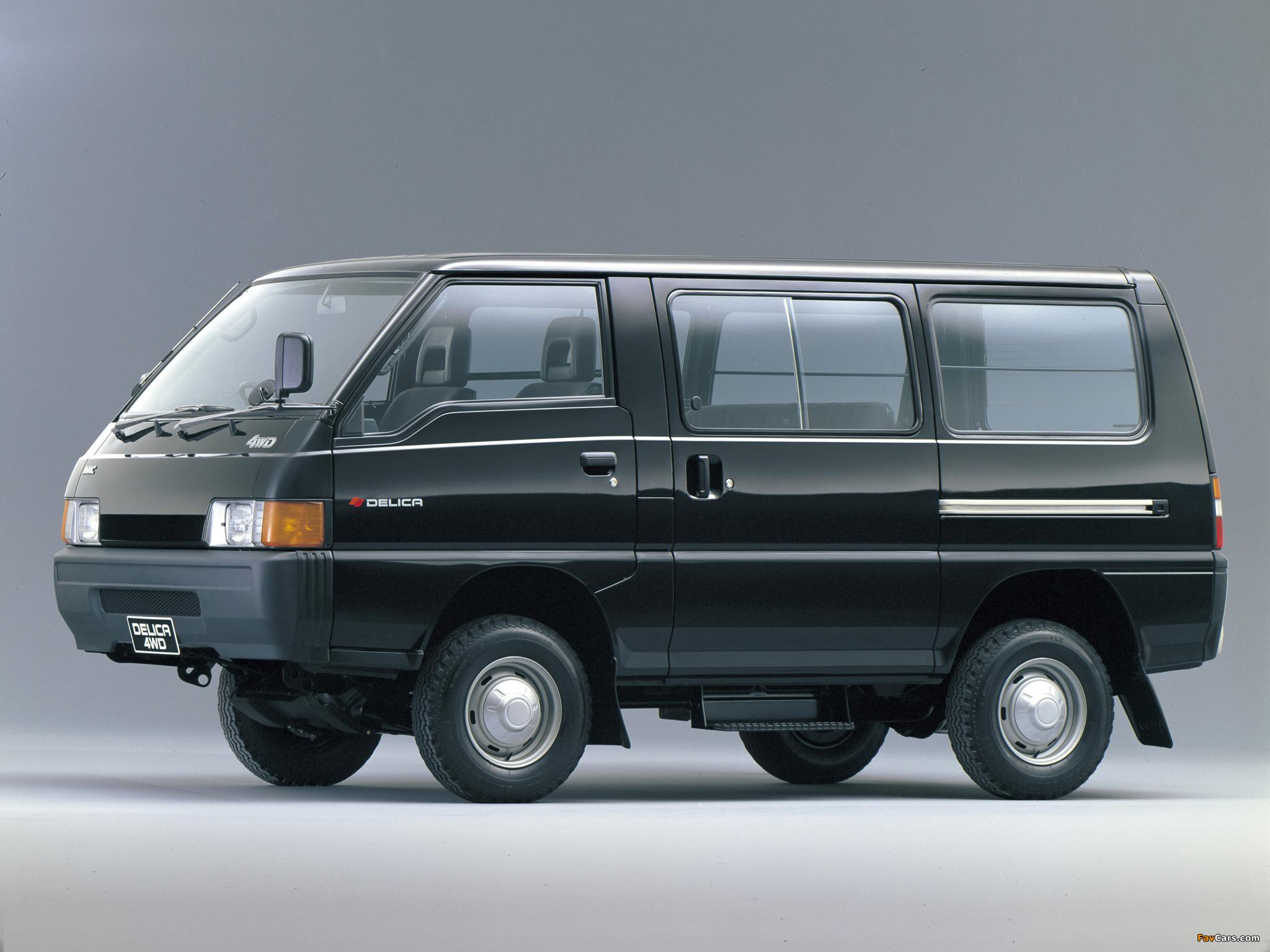 Mitsubishi Delica Star Wagon 4WD 1986–90 wallpapers (2048x1536)
