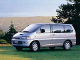 Pictures of Mitsubishi Delica Space Gear (P4W) 1994–97