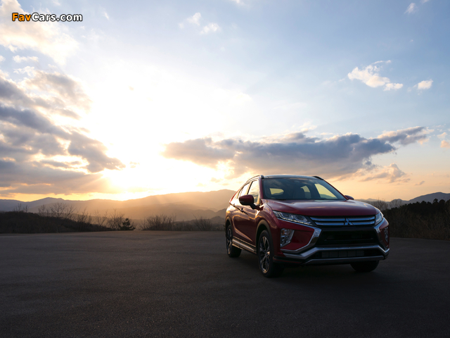 Mitsubishi Eclipse Cross 2017 wallpapers (640 x 480)