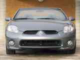 Images of Mitsubishi Eclipse GT Spyder Premium Sport Package 2005–08