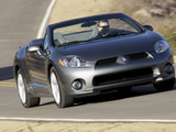 Images of Mitsubishi Eclipse GT Spyder Premium Sport Package North America 2006–08