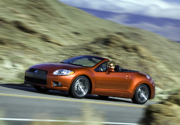 images of mitsubishi eclipse gt spyder 2008. Black Bedroom Furniture Sets. Home Design Ideas