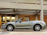 Mitsubishi Eclipse GT Spyder Premium Sport Package 2005–08 images