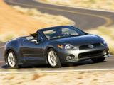 Mitsubishi Eclipse GT Spyder Premium Sport Package 2005–08 pictures