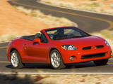 Mitsubishi Eclipse GT Spyder North America 2008–2011 images