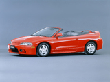 Photos of Mitsubishi Eclipse Spyder JP-spec (D38A) 1997–98